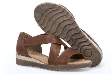 Gabor Comfort Sport Sandalette in Übergrößen Braun 82.711.55 große Damenschuhe – Bild 6