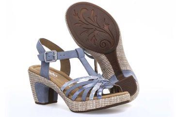 Gabor Comfort Sport Sandalette in Übergrößen Blau 82.736.16 große Damenschuhe – Bild 6