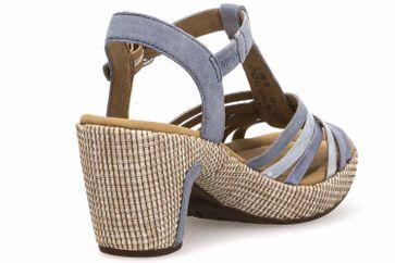 Gabor Comfort Sport Sandalette in Übergrößen Blau 82.736.16 große Damenschuhe – Bild 3