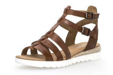 Gabor Comfort Sport Sandalette in Übergrößen Braun 82.744.54 große Damenschuhe