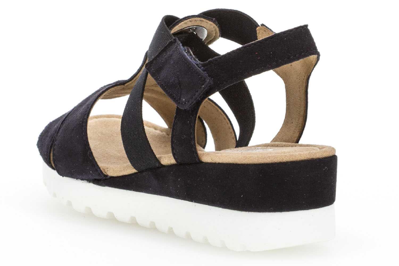 Gabor Comfort Sport Sandalette in Übergrößen Blau 82.754.86 große Damenschuhe – Bild 2