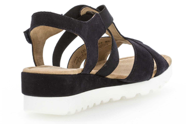 Gabor Comfort Sport Sandalette in Übergrößen Blau 82.754.86 große Damenschuhe – Bild 3