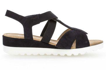 Gabor Comfort Sport Sandalette in Übergrößen Blau 82.754.86 große Damenschuhe – Bild 4