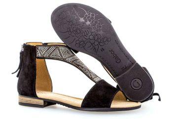 Gabor Comfort Sport Sandalette in Übergrößen Schwarz 82.763.47 große Damenschuhe – Bild 6