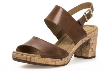 Gabor Comfort Sport Sandalette in Übergrößen Braun 82.777.54 große Damenschuhe – Bild 1