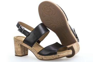 Gabor Comfort Sport Sandalette in Übergrößen Schwarz 82.777.57 große Damenschuhe – Bild 6