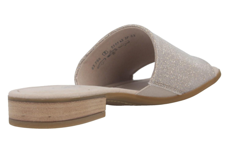 Gabor Comfort Sport Pantolette in Übergrößen Beige 82.790.12 große Damenschuhe – Bild 4