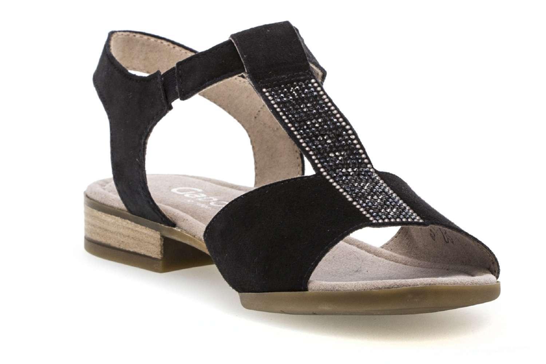 Gabor Comfort Sport Sandalette in Übergrößen Blau 82.793.26 große Damenschuhe – Bild 5