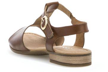 Gabor Comfort Sport Sandalette in Übergrößen Braun 82.793.54 große Damenschuhe – Bild 2