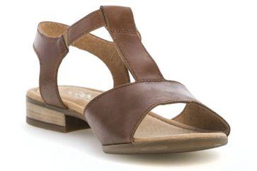 Gabor Comfort Sport Sandalette in Übergrößen Braun 82.793.54 große Damenschuhe – Bild 5