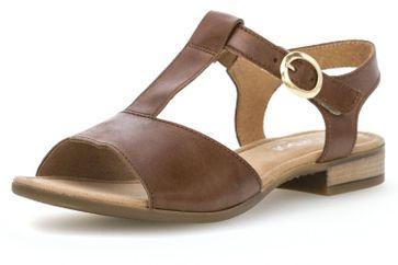 Gabor Comfort Sport Sandalette in Übergrößen Braun 82.793.54 große Damenschuhe