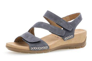 Gabor Gabor Jollys Sandalette in Übergrößen Blau 83.734.36 große Damenschuhe – Bild 1