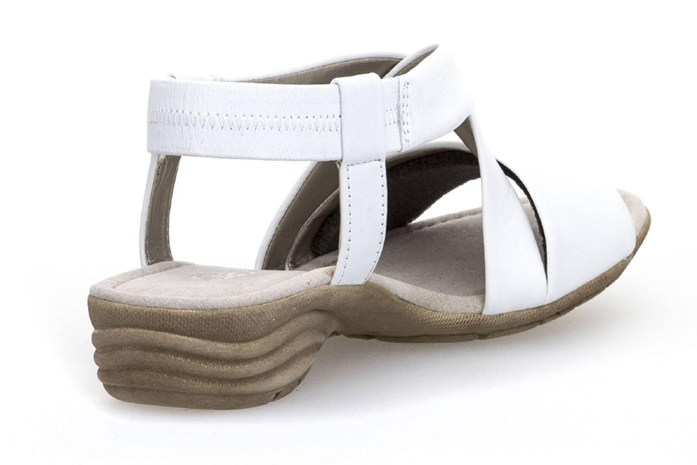 Gabor Gabor Casual Sandalette in Übergrößen Weiß 84.550.21 große Damenschuhe – Bild 3