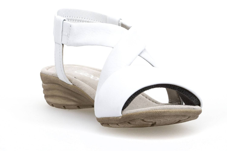 Gabor Gabor Casual Sandalette in Übergrößen Weiß 84.550.21 große Damenschuhe – Bild 5