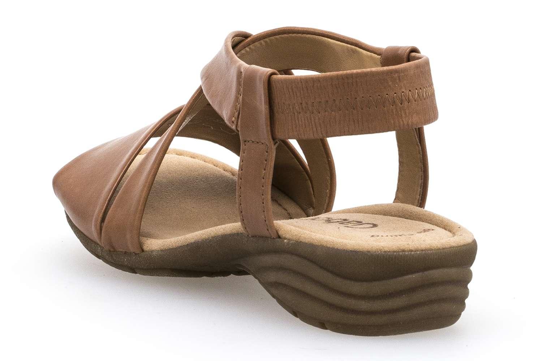 Gabor Gabor Casual Sandalette in Übergrößen Beige 84.550.24 große Damenschuhe – Bild 2