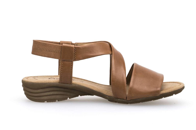 Gabor Gabor Casual Sandalette in Übergrößen Beige 84.550.24 große Damenschuhe – Bild 4