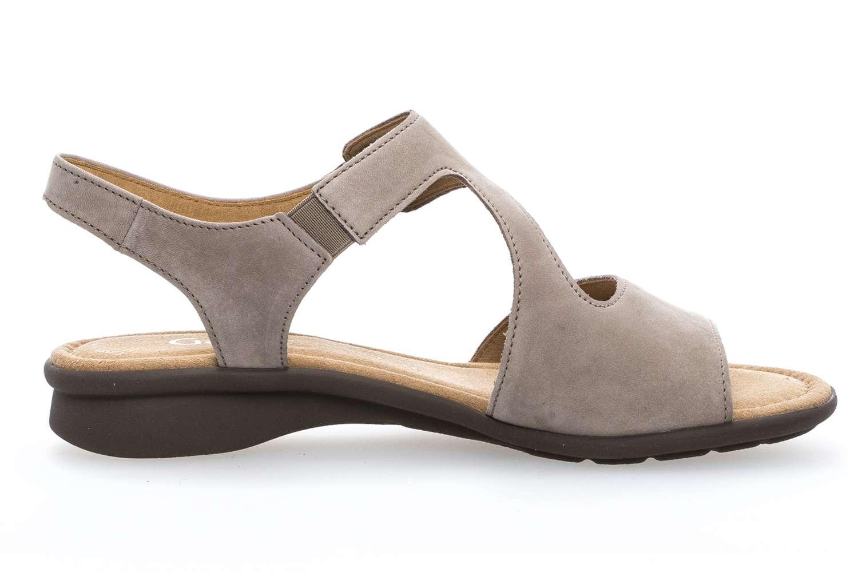 Gabor Comfort Basic Sandalette in Übergrößen Braun 86.063.33 große Damenschuhe – Bild 4
