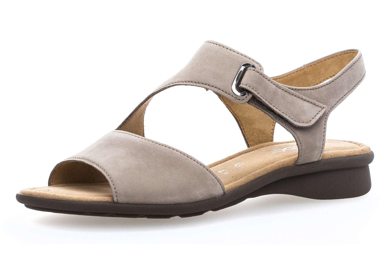 Gabor Comfort Basic Sandalette in Übergrößen Braun 86.063.33 große Damenschuhe – Bild 1