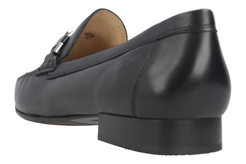 SIOUX  Mokassin in Übergrößen Schwarz 61645 große Damenschuhe  – Bild 3
