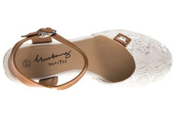 Mustang Shoes Ballerinas in Übergrößen weiß 1066-910-1 große Damenschuhe – Bild 7