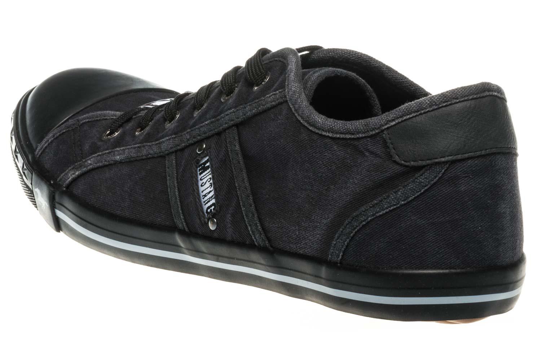 Mustang Shoes Sneaker in Übergrößen graphit 1099-302-259 große Damenschuhe – Bild 2