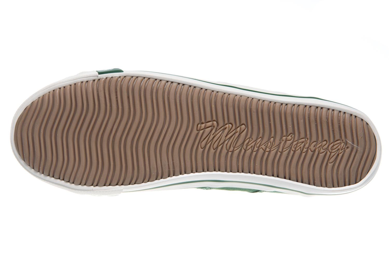 Mustang Shoes Sneaker in Übergrößen grasgrün 1099-302-709 große Damenschuhe – Bild 7