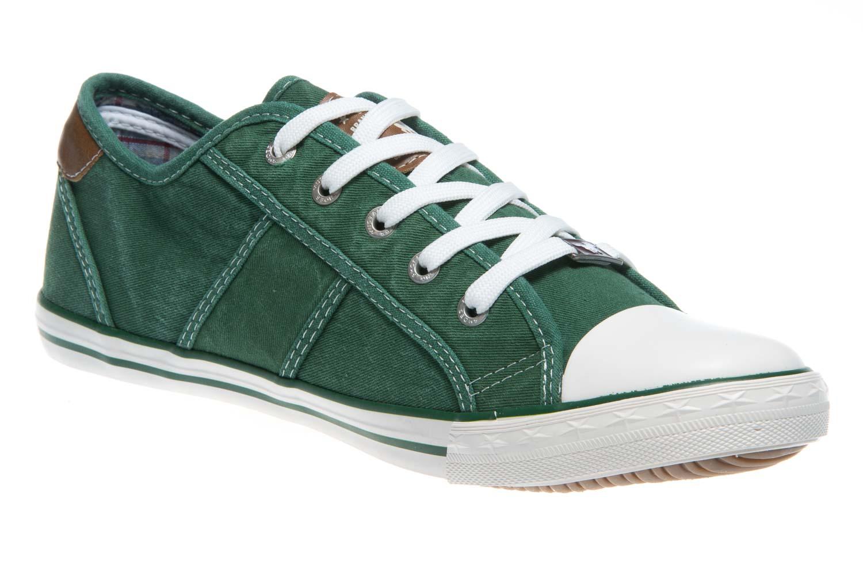 Mustang Shoes Sneaker in Übergrößen grasgrün 1099-302-709 große Damenschuhe – Bild 5