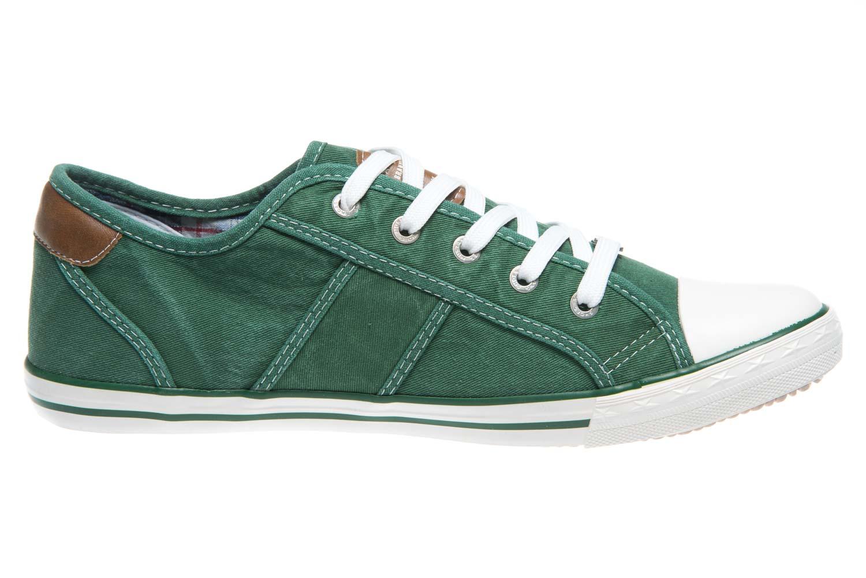 Mustang Shoes Sneaker in Übergrößen grasgrün 1099-302-709 große Damenschuhe – Bild 4