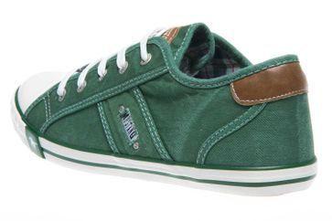 Mustang Shoes Sneaker in Übergrößen grasgrün 1099-302-709 große Damenschuhe – Bild 2