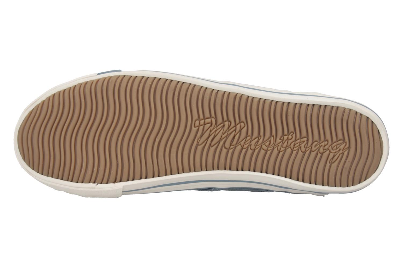 Mustang Shoes Sneaker in Übergrößen himmelblau 1099-302-807 große Damenschuhe – Bild 7
