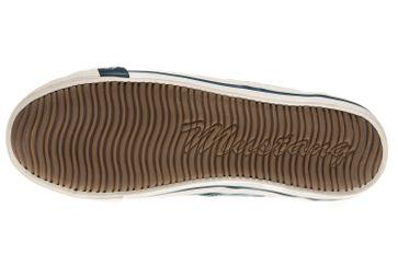 Mustang Shoes Sneaker in Übergrößen blau/grün 1099-302-87 große Damenschuhe – Bild 7