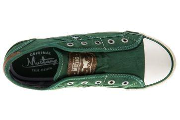 Mustang Shoes Slipper in Übergrößen grasgrün 1099-401-709 große Damenschuhe – Bild 6