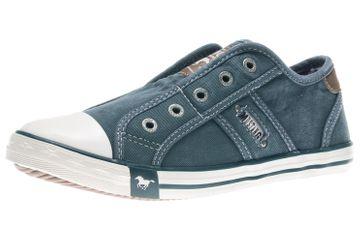Mustang Shoes Slipper in Übergrößen himmelblau 1099-401-807 große Damenschuhe – Bild 1