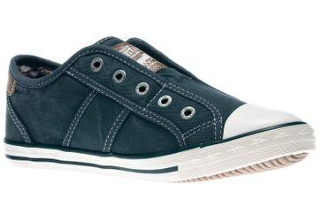 Mustang Shoes Slipper in Übergrößen blau/grün 1099-401-87 große Damenschuhe – Bild 5