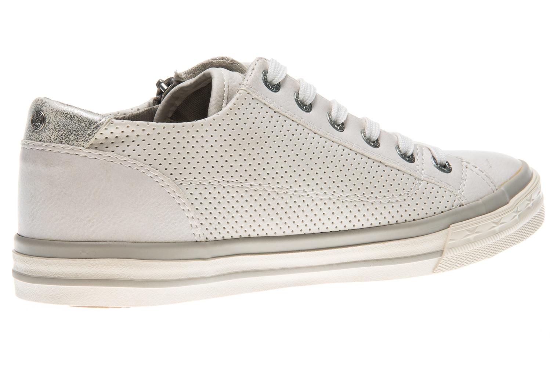 Mustang Shoes Sneaker in Übergrößen weiß 1146-302-1 große Damenschuhe – Bild 3
