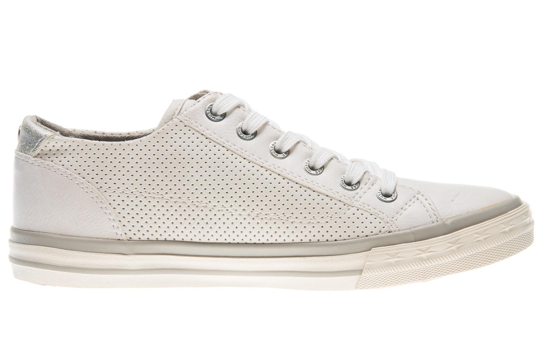 Mustang Shoes Sneaker in Übergrößen weiß 1146-302-1 große Damenschuhe – Bild 4