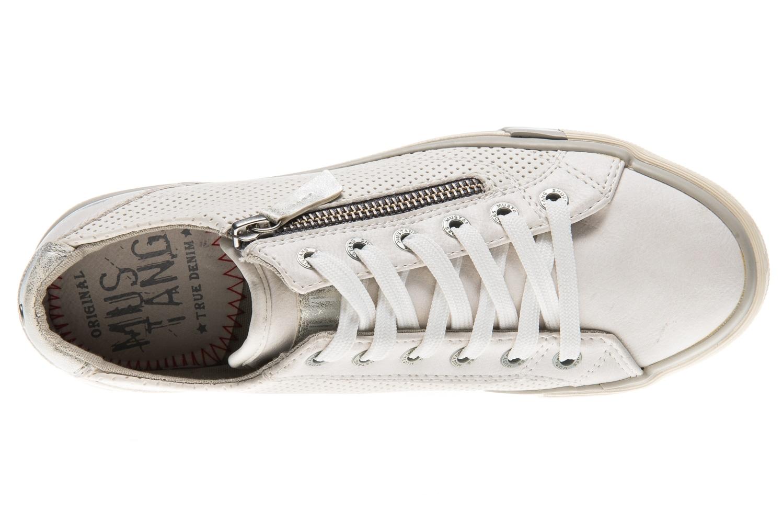 Mustang Shoes Sneaker in Übergrößen weiß 1146-302-1 große Damenschuhe – Bild 6