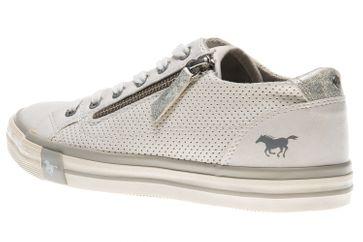 Mustang Shoes Sneaker in Übergrößen weiß 1146-302-1 große Damenschuhe – Bild 2