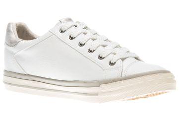 Mustang Shoes Sneaker in Übergrößen weiß 1146-308-1 große Damenschuhe – Bild 5