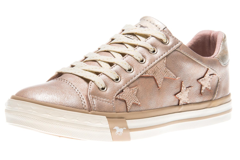 Mustang Shoes Sneaker in Übergrößen bronze 1146-308-221 große Damenschuhe – Bild 1