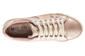 Mustang Shoes Sneaker in Übergrößen bronze 1146-308-221 große Damenschuhe – Bild 7