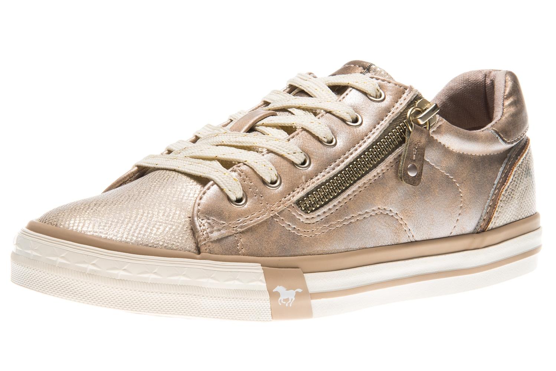 Mustang Shoes Sneaker in Übergrößen bronze 1146-311-221 große Damenschuhe – Bild 1