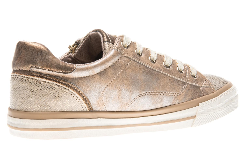 Mustang Shoes Sneaker in Übergrößen bronze 1146-311-221 große Damenschuhe – Bild 3