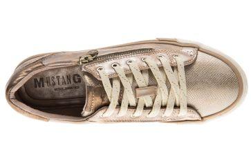 Mustang Shoes Sneaker in Übergrößen bronze 1146-311-221 große Damenschuhe – Bild 6