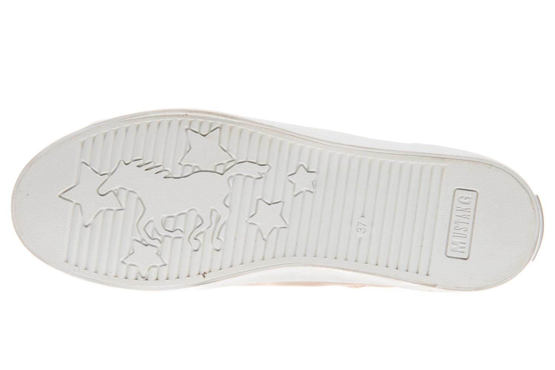 Mustang Shoes High Top Sneaker in Übergrößen rose 1267-501-555 große Damenschuhe – Bild 7