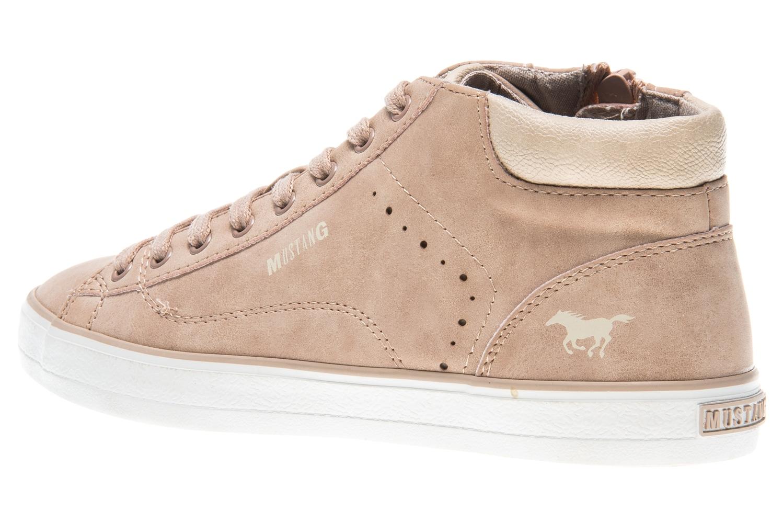 Mustang Shoes High Top Sneaker in Übergrößen rose 1267-501-555 große Damenschuhe – Bild 2
