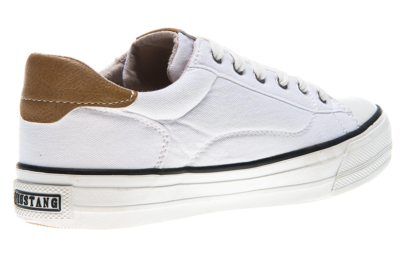 Mustang Shoes Sneaker in Übergrößen weiß 1272-301-1 große Damenschuhe – Bild 3