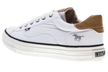 Mustang Shoes Sneaker in Übergrößen weiß 1272-301-1 große Damenschuhe – Bild 2