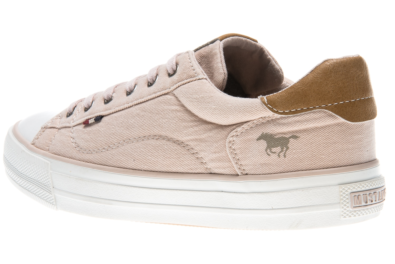 Mustang Shoes Sneaker in Übergrößen rose 1272-301-555 große Damenschuhe – Bild 2