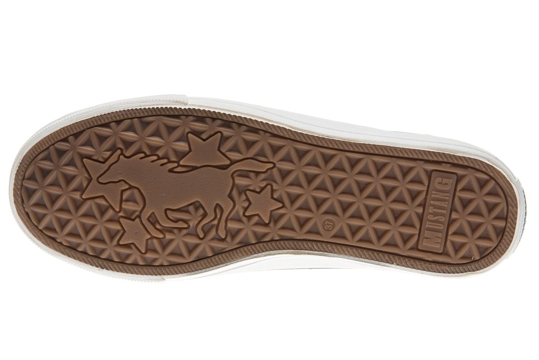 Mustang Shoes Sneaker in Übergrößen aqua 1272-301-870 große Damenschuhe – Bild 6